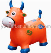 PVC Hopping animal toys inflatable jumping horse for kids