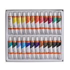 art set premium quality 24colors 12ml tube acrylic paint set