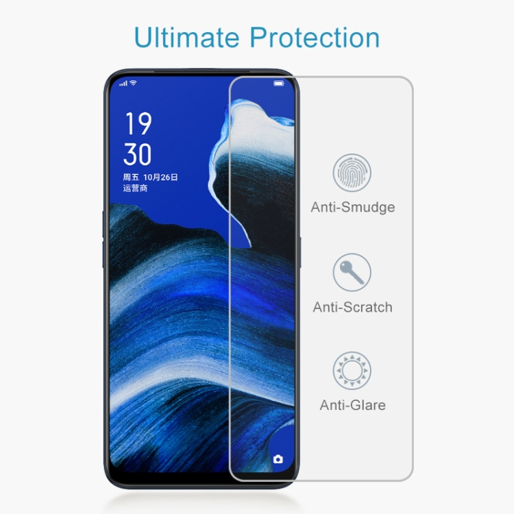 LGYD for 25 PCS Full Screen Full Glue Anti-Fingerprint Tempered Glass Film for Vivo Y81 Black Color : Black