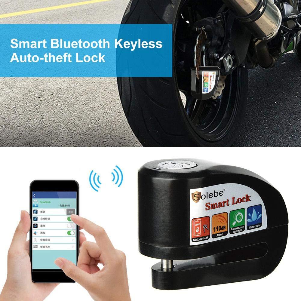 Pro Bike Bicycle Alarm Lock Anti-theft Electric Motorcycle Disc Brake Waterproof