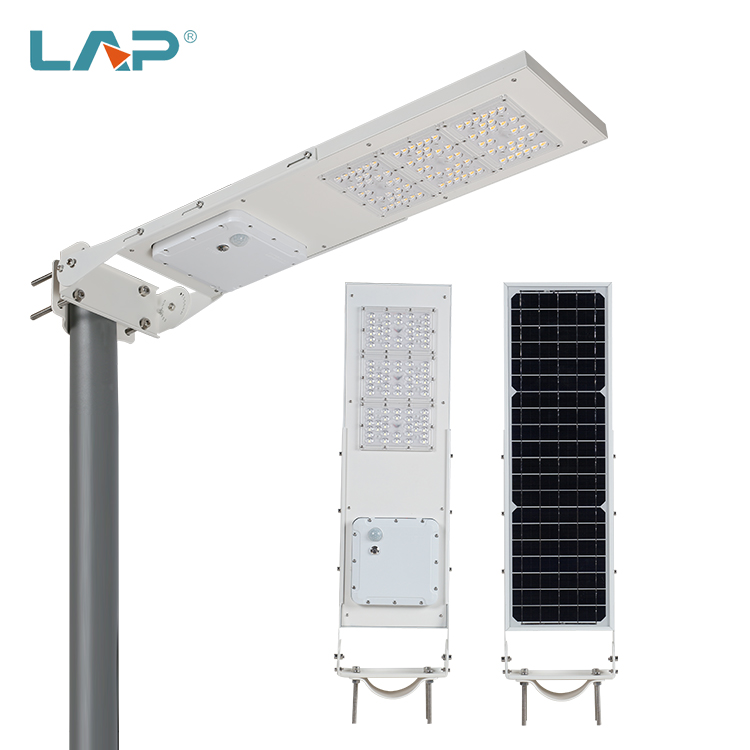 LAP China Manufacturer Outdoor Solar Panels Solar Charging 60 90 Watt All In One Led Solar Street <strong>Light</strong>