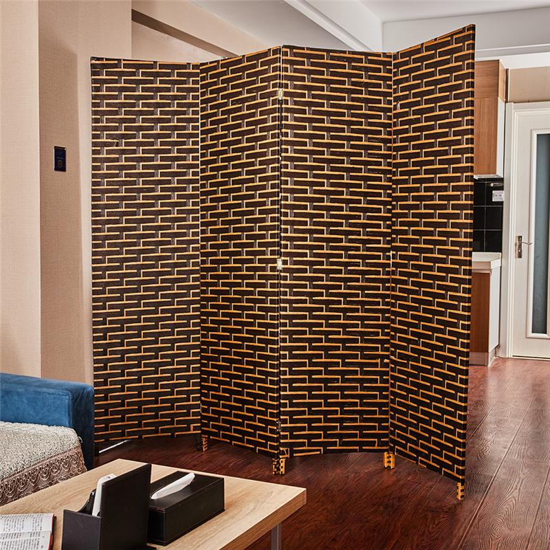 Precio barato de fábrica de madera India divisores de la Sala impermeable calsiu chino pantallas cortina de cuentas con los precios