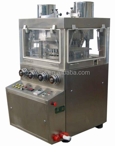 GMP standard High Speed Tablet Press Machine with Precompress and PLC touch screen control