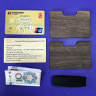 Wallet Money Wallet Promotion Wood Slim Wallet Money Clip With Credit Card Holder