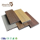 Capped wood plastic composite new wpc co-extrusion decking