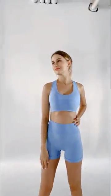กีฬาคุณภาพสูงสวมใส่ชุดชั้นในกางเกงขาสั้น Booty ผู้หญิง BIKER สั้นชุด