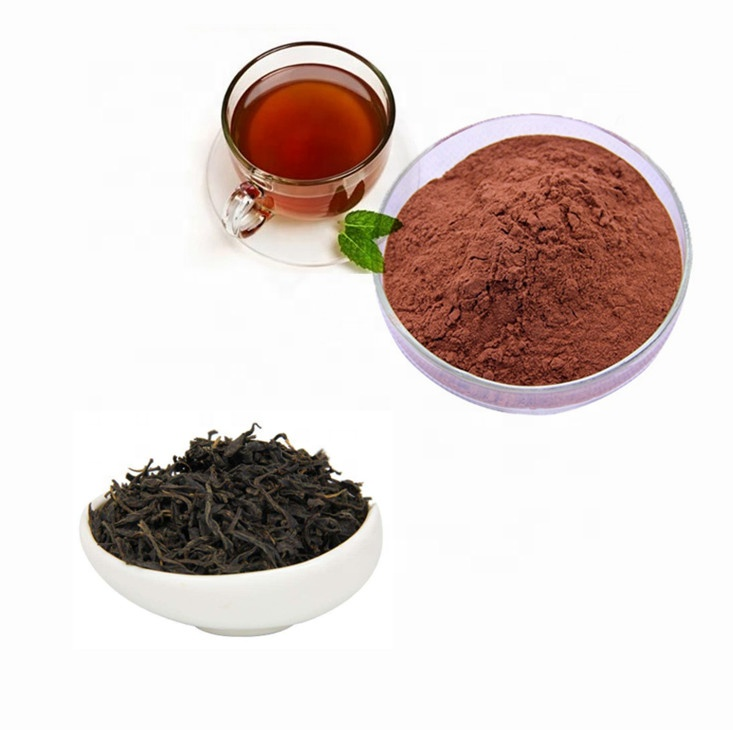 Natural Instant Black Tea Extract Powder for Food and Beverage Additives - 4uTea | 4uTea.com