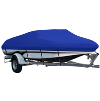 Custom High Quality Waterproof UV Proof Polyester Oxford 600D Jumbo Boat Cover