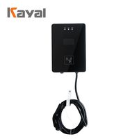 KAYAL New Design IP54 Wall-mounted Charging Pile 7KW EV Charging Station Electric Car Charger