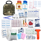 Packaging Customization Emergency Kit Military Camouflage Color Emergency Survival Kit EVA First-aid Kit with Supplies