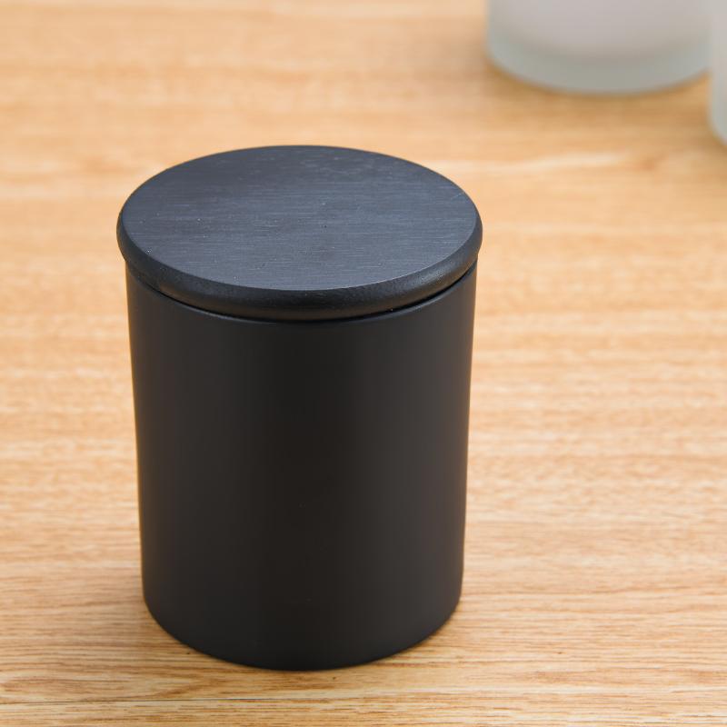 Barato 8oz frascos da vela jarra de Vela com tampa vazio jarra de vela de vidro com tampa de metal