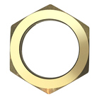 Hexagonal Nut Pickling/customized Turning Forged Hex Brass Hexagonal Nut