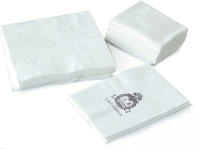 China Made Facial Paper With Custom Printed Logo For Decorative