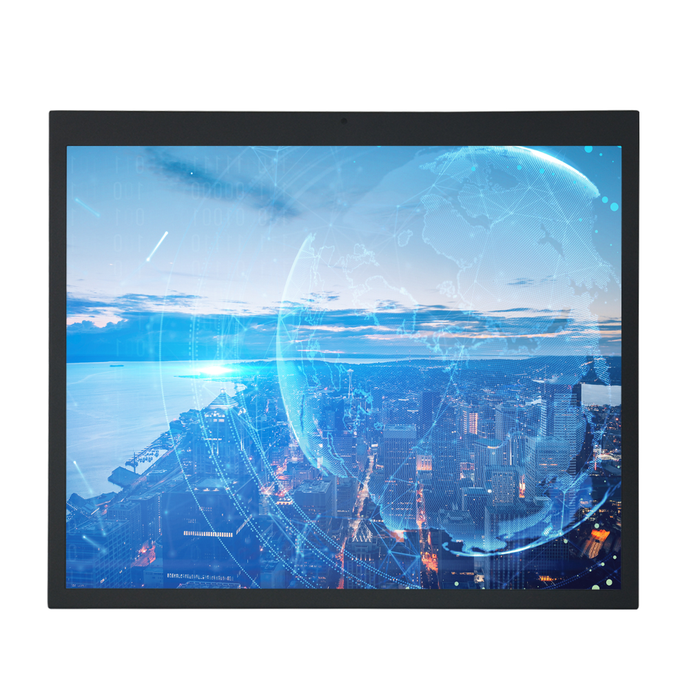 Open Frame 19 Inch Industrial Embedded Al In One Computer PC Linux Touch Screen Display for PC