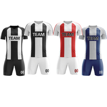 En gros Deux Tons Couleur Vêtements De Football Vêtements De Sport Hommes Futboll Uniforme De Football <span class=keywords><strong>Maillot</strong></span> <span class=keywords><strong>Guangzhou</strong></span> Fabricants