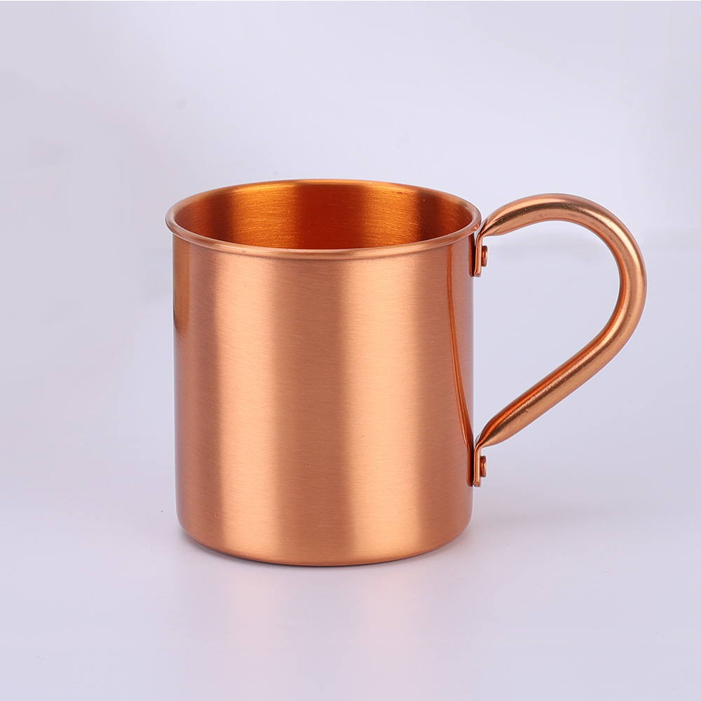 Factory direct cheap custom wholesale 15 oz 100% copper mugs Moscow mule mugs