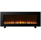 "48 "" Wall Mounted and free standing electric fireplace with colorfull flame"