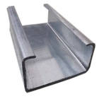 a36 carbon steel c channel iron sizes beam hot dip galvanized c steel