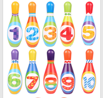 Hot Selling PU Foam Kids Bowling Game Squeeze Veilig Foam MIni Bowling set Speelgoed