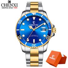 CHENXI дизайнерские брендовые Роскошные мужские часы, автоматические механические часы, мужские прозрачные механические Спортивные мужские ...(Китай)