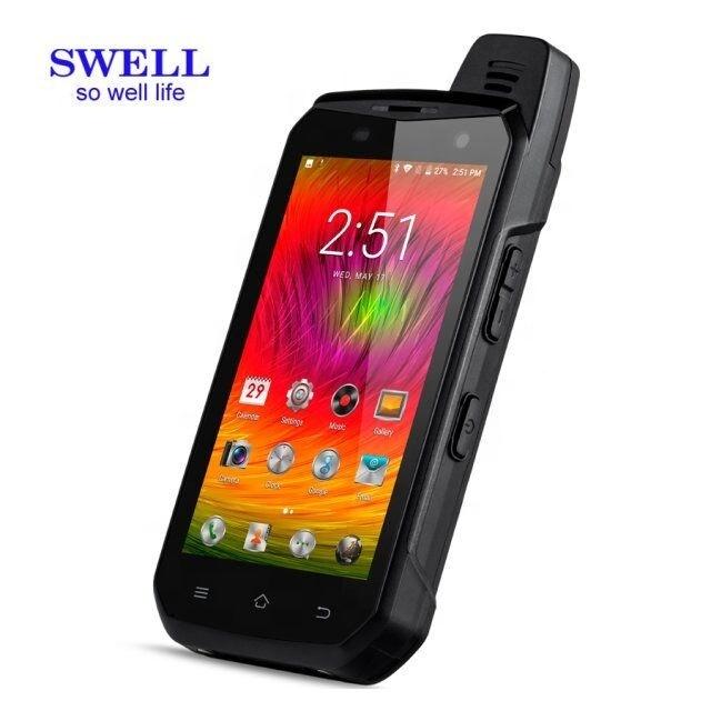 Phí Không Dây Android 9 Điện Thoại B8000 OEM Thương Hiệu Không Có Máy Ảnh Không Thấm Nước Loa 5Inch Mobilephone Với IR Gồ Ghề Điện Thoại Thông Minh
