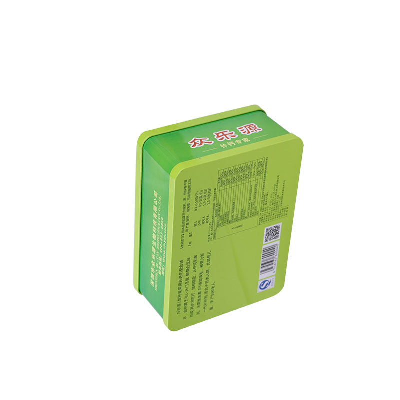 Large capacity healthy care lunch case tin packaging customized