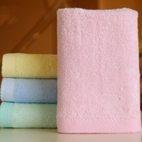 25*25 cm kids children bamboo fiber small face towel square bamboo face towel