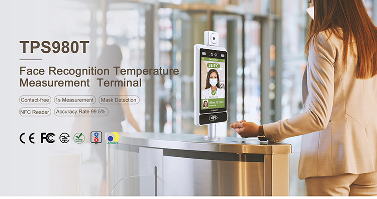 Ir Temperature Controller Office Building Standalone Face