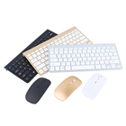 Slim Mini Wireless Keyboard And Mouse Set Waterproof 2.4G For Mac Apple PC Computer Waterproof