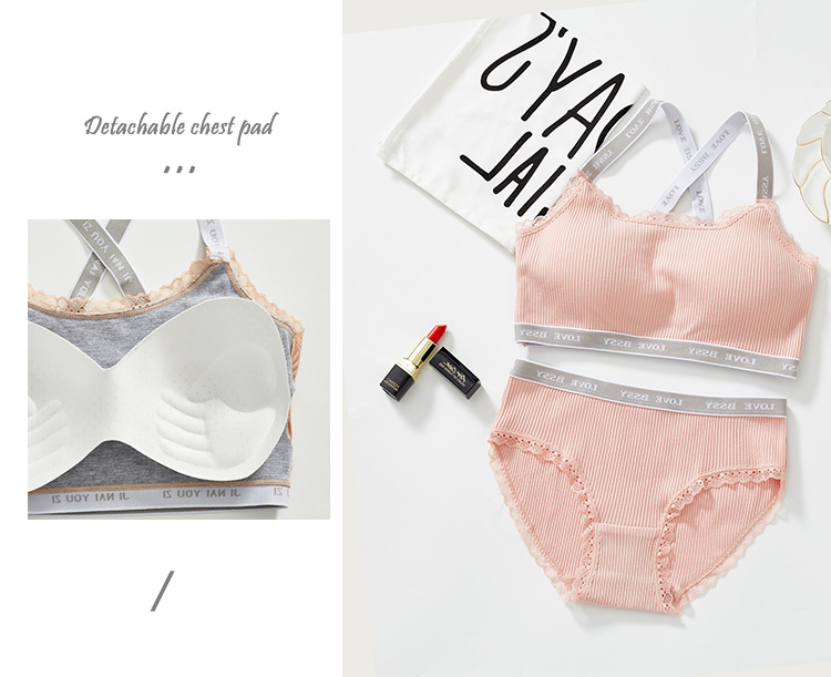 new style comfortable sexy push up sexy ladies bra sets