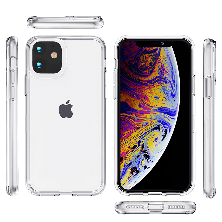 For iPhone 11 Case,High Quality Transparent Clear Acrylic Cover For iPhone 12 Pro <strong>Max</strong> Phone Case For iPhone XS <strong>MAX</strong> XR 7 8 Plus