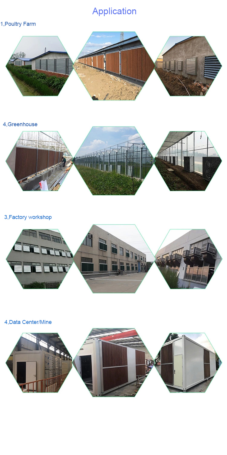 Myanmar Farm Industrial Poultry Circulation Ventilation greenhouse Cooling Fan