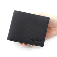 New hot mens wallet short casual minimalist slim wallet random logo large capacity cheap soft PU leather wallets