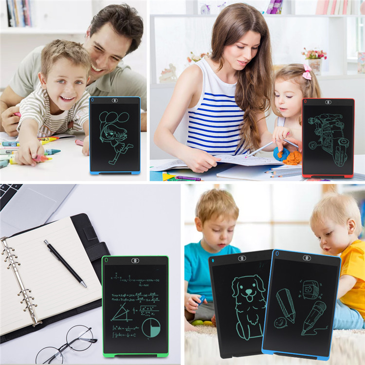 Graphics Tablet Electronics Drawing Tablet 12Inch Digital LCD Writing Tablet with Pen Stylus For Drawing Board Smart Notebook