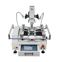 New version LY R690 V.3 BGA Rework Station solder stations 3 zones hot air touch screen with laser point 4300W EU plug