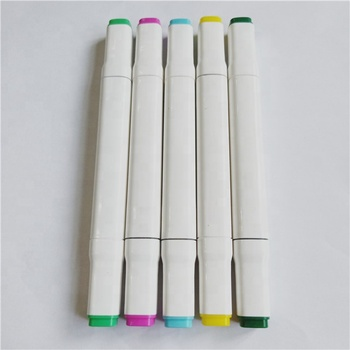 White Marker Dual Tip Permanent Markers For Ceramic And Fabric Paint Pen