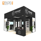 IZEXPO 30MINS QUICK BUILD portable wooden system panel exhibition booth display