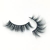 2018 new design 3D Mink Eyelashes Makeup Mink Lashes HandMade Full Stripe Thick False Lashes Curly Volume Eyelashes Extension