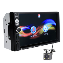 Venda quente 7 polegadas 2 din 7010 retrovisor do carro mp5 dvd plyer