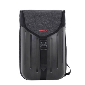 Newest Design Waterproof Anti-theft Flip Cover Travel Business Laptop Hardshell Backpack