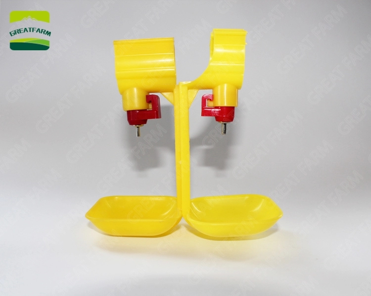 Enhanced Edition 25mm Water Pipe Yellow Nipple Drinker Poultry Bird Drinking Water Equipment