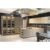 Artificial Pure White Crystal Glass Stone Kitchen Design Modern Style