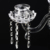 Crystal Tall Candle Holders Wedding Chandelier for Table Centerpiece Wedding Decoration