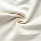 Terry Towel Fabric High Quality White 100% Cotton Terry Towel Fleece Knit Fabric