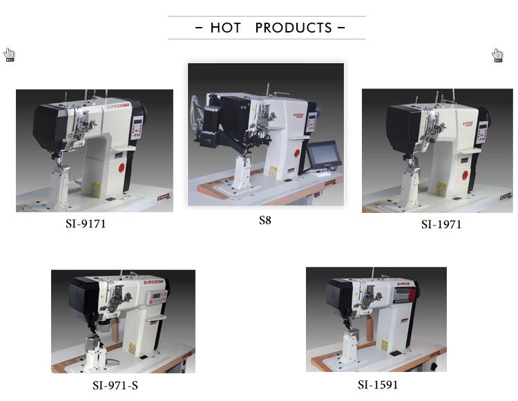 SI-9171 ago Singolo post letto macchina da cucire industriali