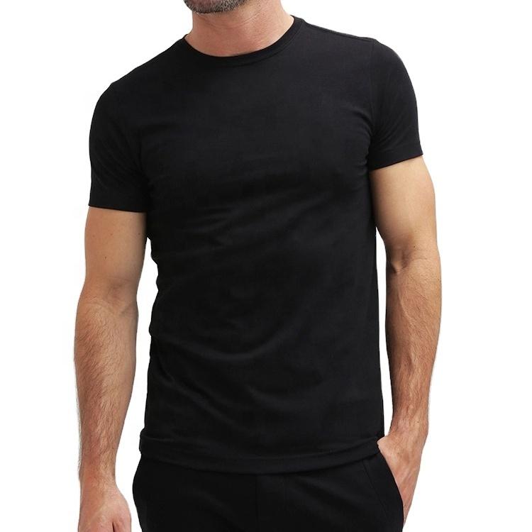 6.5ออนซ์ใหม่พื้นฐานขายส่งสีขาวบุรุษเสื้อยืดหนักหนาผ้าฝ้าย100% หลายสีสีดำ Unisex เสื้อยืด