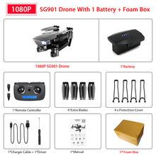 ZWN SG907 SG901 GPS Дрон с Wifi FPV 1080P 4K HD Двойная камера оптический поток RC Квадрокоптер Follow Me мини Дрон VS SG106 E520S(Китай)