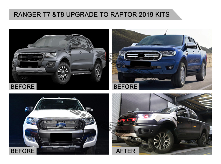 High Quality Raptor Body Kit For Ranger T7 Upgrade to Raptor