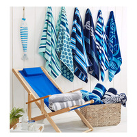 100% Cotton Wholesale Customized Design Printed Beach Towel