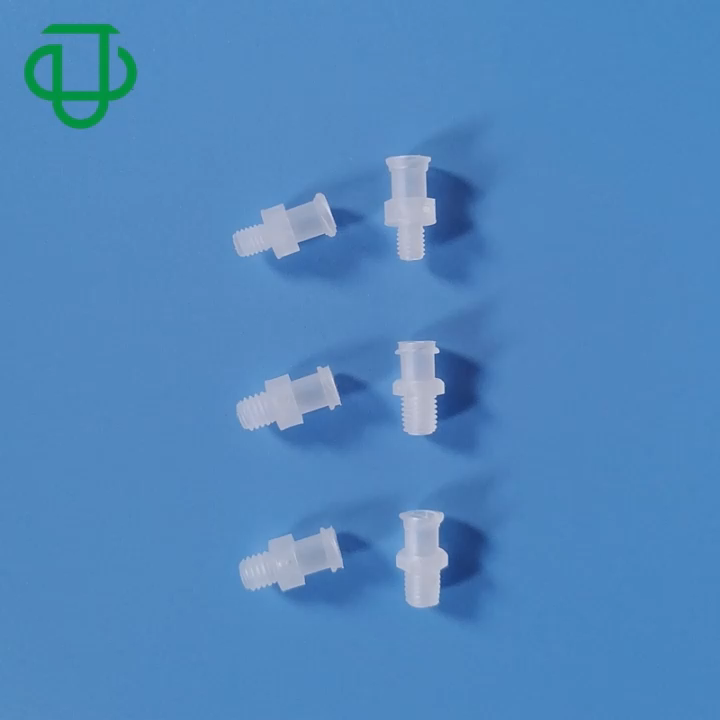 JU Universal 1/4-28UNF M5 M6 Male Thread To Female Luer Lock Adapter Fitting
